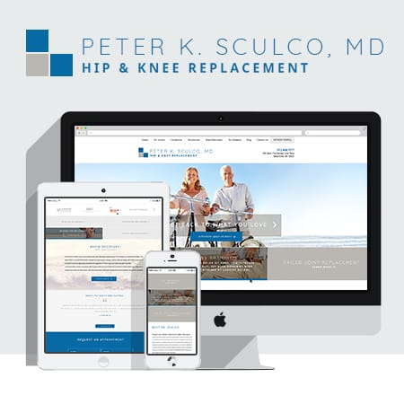 Peter K. Sculco MD launches new website