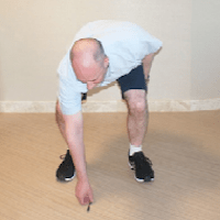 Acceptable poses following hip replacement surgery